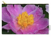 Bowl Of Beauty Peony Catching The Rain Carry-all Pouch