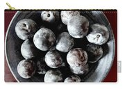 Bowl Of Plums Still Life Carry-all Pouch