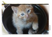 Bowlful Of Kitten Carry-all Pouch