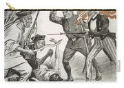 Boxer Rebellion Cartoon Carry-all Pouch