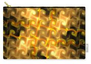 Boxes Yellow Art Carry-all Pouch