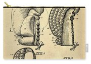 Boxing Glove Patent 1944 Carry-all Pouch