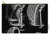 Boxing Glove Patent 1944 Black Carry-all Pouch