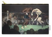 Boxing Match Carry-all Pouch by George Luks