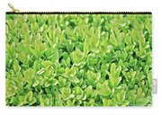 Boxwood Leaves Carry-all Pouch