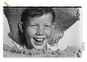 Boy Eating Watermelon, C.1940-50s Carry-all Pouch