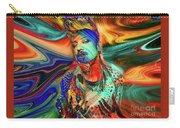 Boy George Digital Art Carry-all Pouch