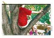 Boy In A Tree Carry-all Pouch
