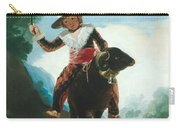 Boy On A Ram Carry-all Pouch