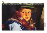 Boy With A Green Cap Also Known As Chico 1922 Carry-all Pouch