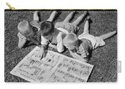 Boys Reading Newspaper Comics, C.1950s Carry-all Pouch