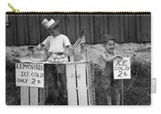 Boys Selling Lemonade, C.1940s Carry-all Pouch