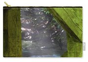Braced With Moss Carry-all Pouch