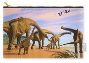 Brachiosaurus Beach Carry-all Pouch