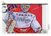Braden Holtby Washington Capitals Oil Art Carry-all Pouch