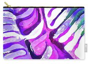 Brain Coral Abstract 4 In Purple Carry-all Pouch