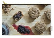 Bran Muffins With Mulberry Jam Carry-all Pouch