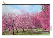 Branch Brook Cherry Blossoms Carry-all Pouch
