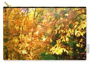Branch Of Autumn Leaves Carry-all Pouch