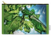 Branch With Green Fruit Carry-all Pouch