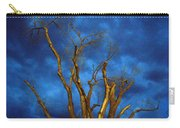 Branches Against Night Sky H Carry-all Pouch