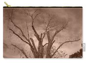 Branches Against Sepia Sky H   Carry-all Pouch