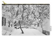 Branches In Snow Carry-all Pouch