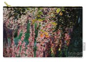 Branches Of A Tree With Colorful Leaves Shining In The Sunlight Carry-all Pouch