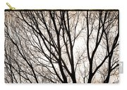 Branches Silhouettes Mono Tone Carry-all Pouch