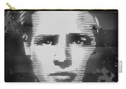 Brando Odyssey Black And White Carry-all Pouch