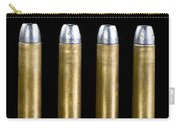 Brass And Lead Bullets. Carry-all Pouch