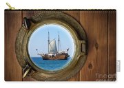 Brass Porthole Carry-all Pouch by Carlos Caetano