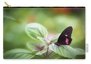 Brave Butterfly  Carry-all Pouch by Cindy Lark Hartman