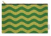 Brazilian Paving Pattern In Brazilian Colours. Carry-all Pouch