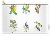 Brazilian Tropical Birds Carry-all Pouch
