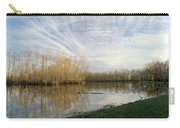 Brazos Bend White Egret Solitude Carry-all Pouch