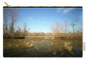 Brazos Bend Winter Wetland Carry-all Pouch