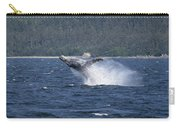 Breaching Whale Paint Carry-all Pouch