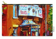 Breakfast At The Bagel Cafe Carry-all Pouch