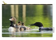 Loon Mom Serves Breakfast In Bed Carry-all Pouch