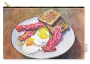 Breakfast Is Served Carry-all Pouch
