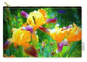 Breakfast Time Oj Irises Carry-all Pouch