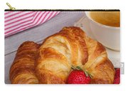 Breakfast With Croissants Carry-all Pouch