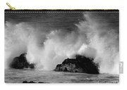 Breaking Wave At Pacific Grove Carry-all Pouch