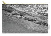 Breaking Wave In Black And White Carry-all Pouch
