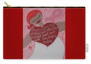 Breast Cancer Goddess Carry-all Pouch