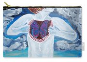 Breathe Deep Carry-all Pouch by Lisa Brandel