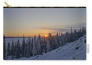 Breathtaking Winter Sunrise Carry-all Pouch