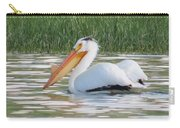 Breeding American White Pelican On Lower Sunshine Carry-all Pouch