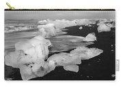 Brethamerkursandur Iceberg Beach Iceland 2319 Carry-all Pouch